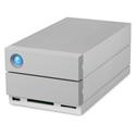 LaCie STGB8000400 8TB 2big Dock RAID Storage Thunderbolt 3 & USB-C 7200 RPM Enterprise