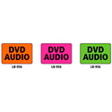 1x1.5 Warning Label 1000 Pk Orange (DVD Audio)