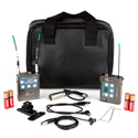 Lectrosonics ZS-LRLMB-A1 Complete L-Series Camera Mount Lavalier Mic Kit Band A1 470.100 - 537.575 MHz