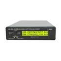 Link Electronics LEI-599 HD SD Caption Decoder