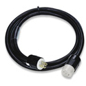 Lex PE105-25-L2130 30A 3-Phase 120/208VAC NEMA L21-30 PowerFLEX Locking Extension Cable - 25 Ft.