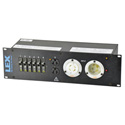 Lex PRM3IJ-9CC 3RU Rack Mount Power Distribution - L14-30 In/Thru to Duplexes