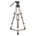 Libec LX10  Professional 2-Stage Aluminum Tripod System w/ Floor-Level Spreader
