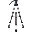 Libec RS-350RM Professional 2-Stage Aluminum Tripod System w/ Mid Level Spreader