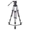 Libec RSP-850 Professional Aluminum Tripod System with Floor-level Spreader