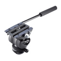 Libec TH-X H Fluid Head with Pan Handle for Cameras up to 9 Lbs.
