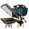 Listec EN-10C 10in On-Camera Teleprompter w/Compact Folding Hood Assembly & Case