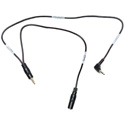 Sescom LN2MIC-ZMH6-MON 3.5mm Line to Mic 25dB for Zoom H6 with Monitoring Jack