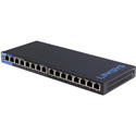 Linksys LGS116P 16-Port Business Desktop Gigabit PoEplus Ethernet Switch
