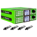 Lynx GMP DUALTRANS-US Dual HD/Audio/Ethernet/GPI Bi-Directional Fiber Transport System