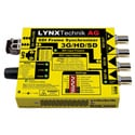 Lynx Technik PVD 1800 SD/HD/3G SDI Frame Synchronizer - Optional Fiber I/O (Not Included)