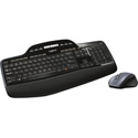 Logitech MK-710 Wireless Desktop Combo - USB Wireless RF Keyboard - Black - USB Wireless RF Mouse