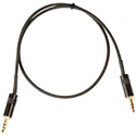LoProfile StarQuad 3.5mm Stereo Male-Male  18 inches