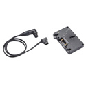 Litepanels 900-3507 Anton Bauer Gold Mount Battery Bracket With P-Tap to 3 Pin XLR Cable