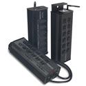Leprecon ULD-360 15 Amp High Power Duplex 6 channel W-DMX dimmer ETL listed