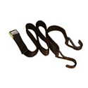 8 Foot Long x 1 Inch Wide Safety Belt with J Hooks