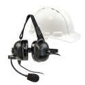 Listen Technologies LA-455 ListenTALK Headset 5 (Over Ears Industrial with Boom Mic)
