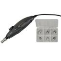Lightel Fiber Optic Connector Inspector & Broadcaster Tip Set Kit