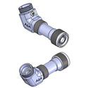 Lightel PT2-U/ADAPT-A6 Universal 60 Degree Angled Tip Adapter for Series 2 Tips