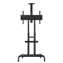 Luxor FP4000 Adjustable Height Large Capacity LCD TV Stand