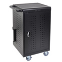 Luxor LLTM30-B 30 Tablet/Chromebook Computer Charging Cart