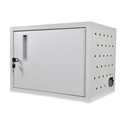Luxor LLTMWUSB12-G 12 Tablet Wall/Desk Charging Box with USB Outlet