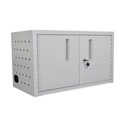 Luxor LLTMWUSB16-G 16 Tablet Wall/Desk Charging Box with USB Outlet