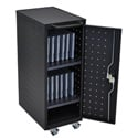Luxor LLTP12-B 12 Laptop/Chromebook Computer Charging Cart