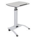 Luxor LX-PNADJ-WH - Pneumatic Height Adjustable Lectern