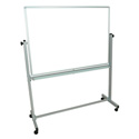 Luxor MB4836WW Double Sided Magnetic Whiteboard 48 x 36 Inch