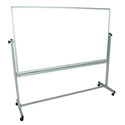 Luxor MB7240WW Double Sided Magnetic Whiteboard 72 x 40 Inch
