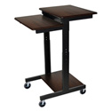 Luxor PS3945-W Adjustable Height Presentation Station