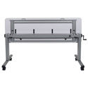 Luxor STAND-NESTC-72  Adjustable Flip Top Table  with Crank Handle - 72 Inch