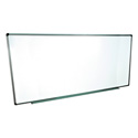 Luxor WB9640W 96x40 Wall Mounted Whiteboard
