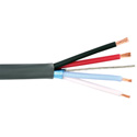Liberty LLINX-U-P PVC Control Cable 22 AWG 1 Pair Shielded and 18 AWG 2 Cond.