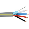 Liberty LLINX-U PVC Control Cable 22 AWG 1 Pair Shielded and 2 Cond. Composite - 1000 Ft.