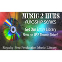 Music 2 Hues Full Flagship Series Full 102 Title Set on USB Drive