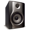 M-Audio BX6 Carbon Compact Studio Monitor for Music Production (Single)
