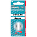 MagLite LM2A001 Xenon Replacement Lamp for Mini 2-Cell AA Flashlight 2 Pack