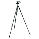 Manfrotto MK294A3-D3RC2 294 Aluminum 3 Section Tripod with 3 Way Head