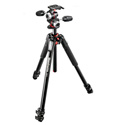 Manfrotto MK055XPRO3-3W 055 Series Aluminum Tripod - 3 Section with 3-Way Head