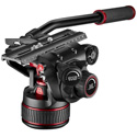 Manfrotto MVH612AHUS Nitrotech 612 Fluid Video Head with Continuous CBS