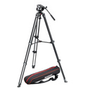 Manfrotto MVK500AM Lightweight Fluid Video System / Twin Legs / Middle Spreader