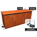 Middle Atlantic C5F1-D Deeper C5 Series Credenza Rack - 1 Bay 31.5 Inch Deep