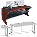 Middle Atlantic LD-4830DC-RA -  LCD Monitoring Desk w/Right Bay - Dark Cherry (4