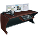Middle Atlantic LD-6430DC LCD Monitoring Desk - Dark Cherry
