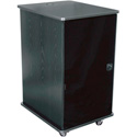 Middle Atlantic MFR-1227GE Mobile Furniture Rack - Grained Ebony