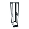 Middle Atlantic R412-4530B R4 Series 45U Four-Post Open-Frame Rack - 30 Inch Use