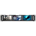 Marshall M-LYNX-503 Triple 5 Inch Rackmountable Monitor with HDMI/ 3G-SDI & Composite Inputs