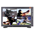 Marshall QVW-1708-3G-DT Desk Top Quad View 17 Inch Monitor with Native Resolution - 4K Quad 3GSDI (IMD)